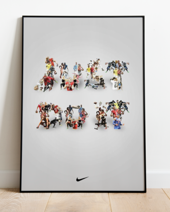 Quadro Esportes Nike Just Do It