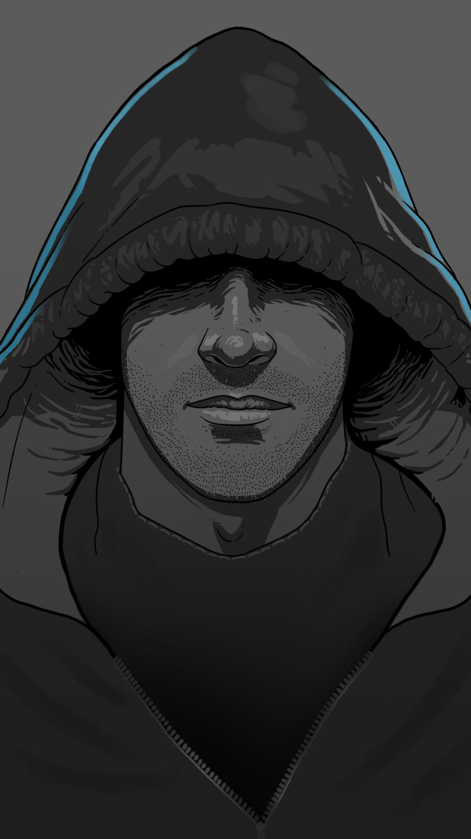 Poster Ilustração I`m Hacker