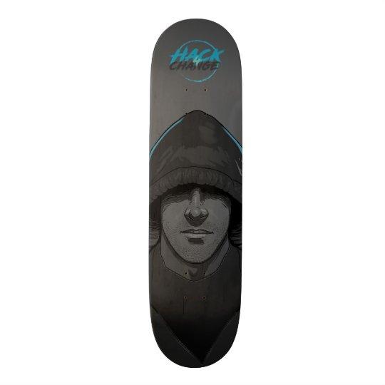 I`m Hacker Skateboard Shape Deck Inspirado em Mr. Robot